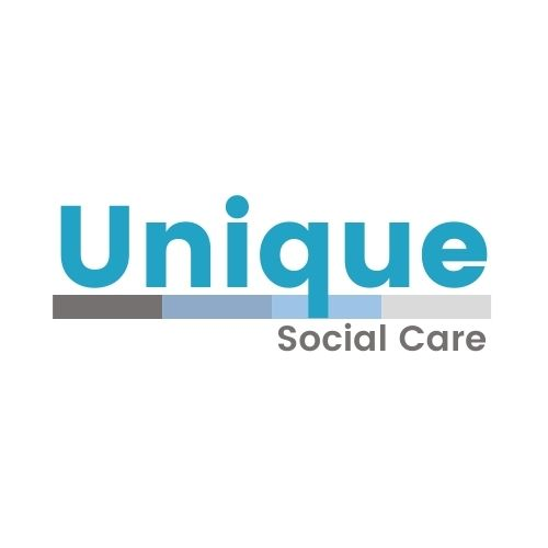 Unique Social Care Logo In full colour