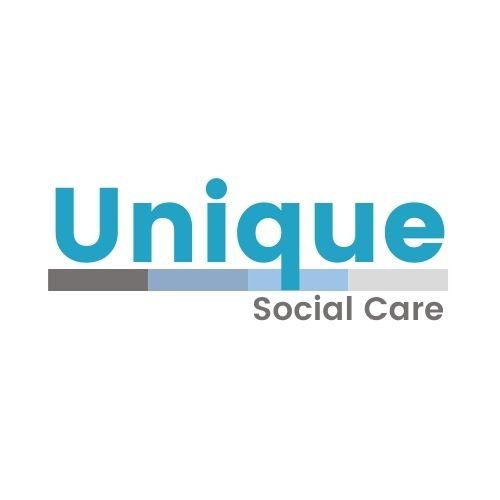 Unique Social Care Logo In full colour